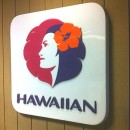 Hawaiian Airlines Sign